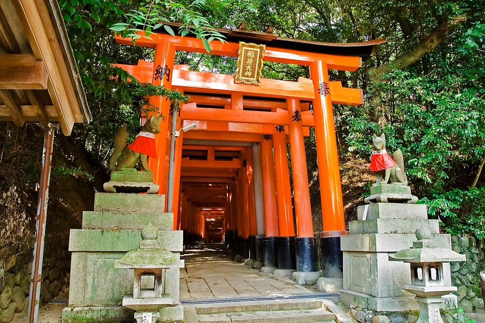 Kyoto Gates by Vittorio Zumpano