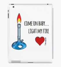 Light my fire iPad Case/Skin