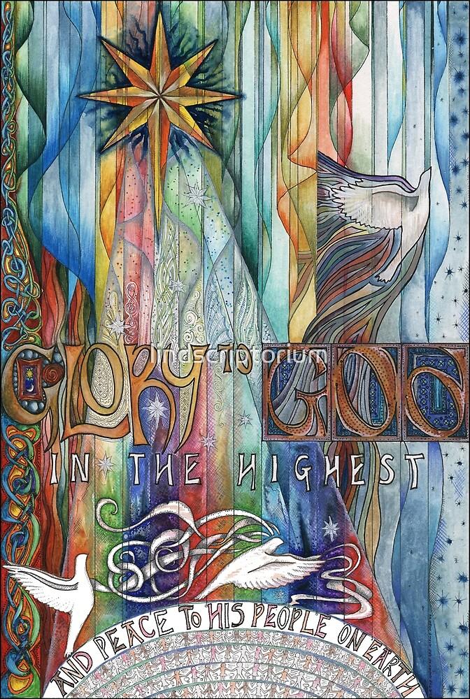Glory by lindscriptorium