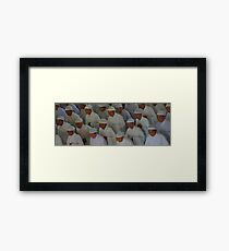 Women of the temple Framed Print