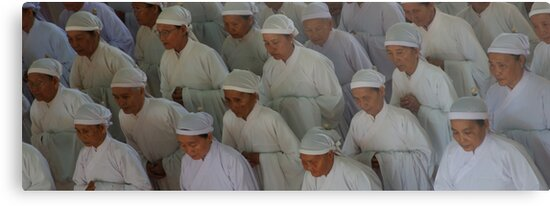 Women of the temple by Mark Mansour