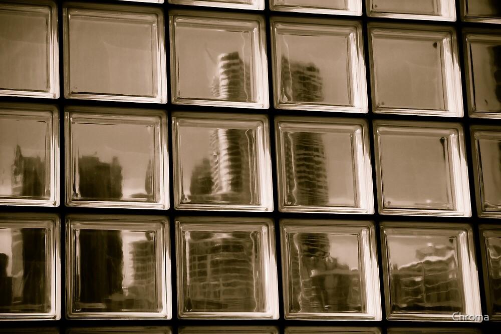 Through a Window darkly by Chroma