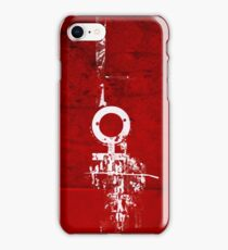 Hey (F)Red iPhone Case/Skin