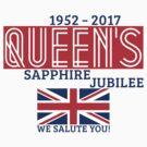 Queen's Sapphire Jubilee by MrFaulbaum