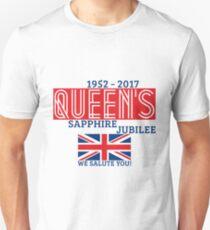 Queen's Sapphire Jubilee Unisex T-Shirt