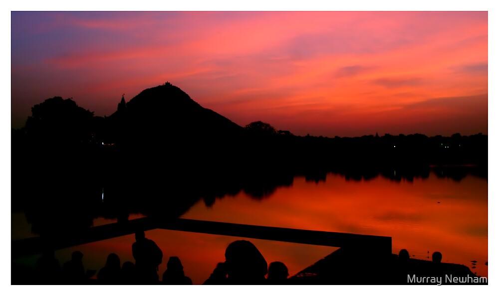 Pushkar Sunset by Murray Newham