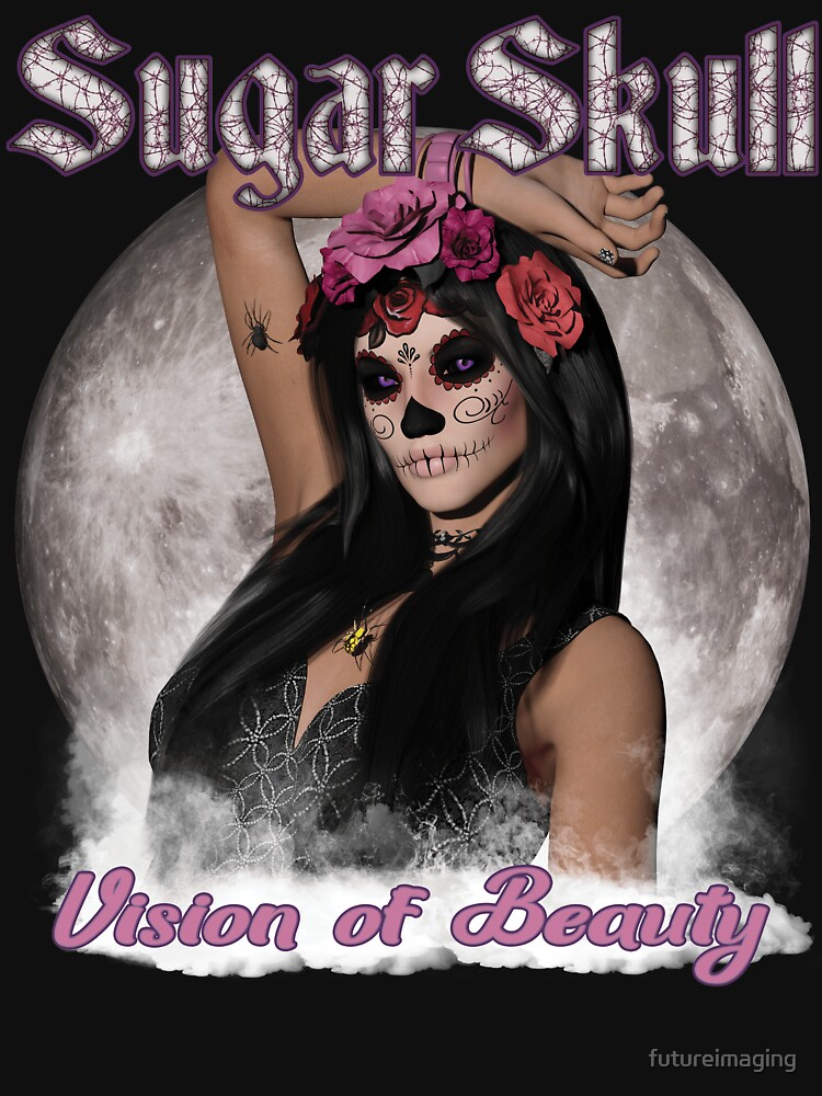 Sugar Skull Vision of Beauty by futureimaging