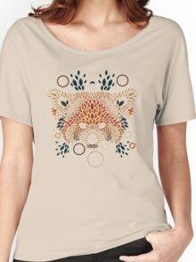 Red Panda Face Women's Relaxed Fit T-Shirt