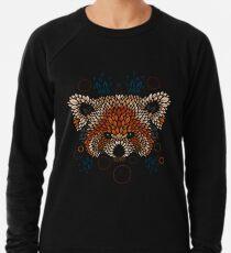 Red Panda Face Lightweight Sweatshirt