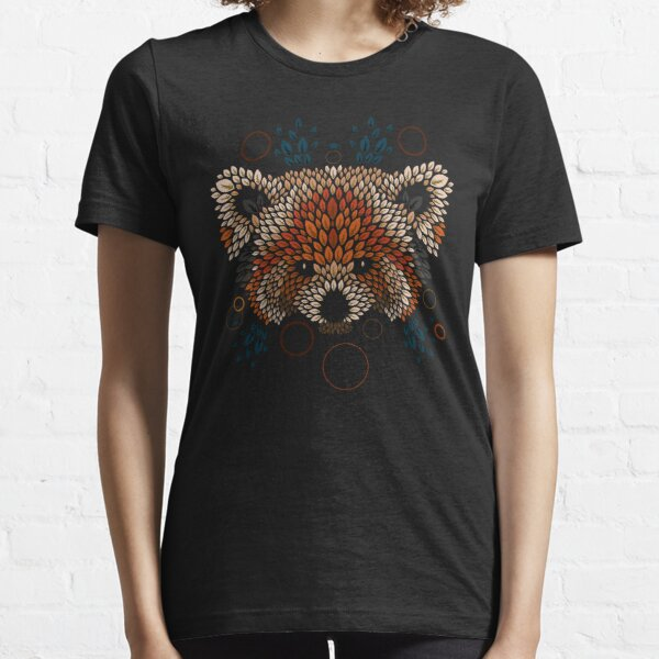 Red Panda Face Essential T-Shirt
