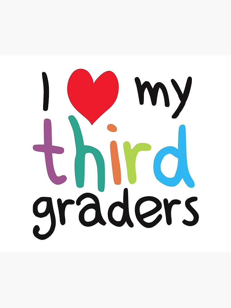 I Heart My Third Graders Teacher Love by TheShirtYurt