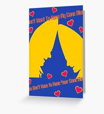conical crania Greeting Card