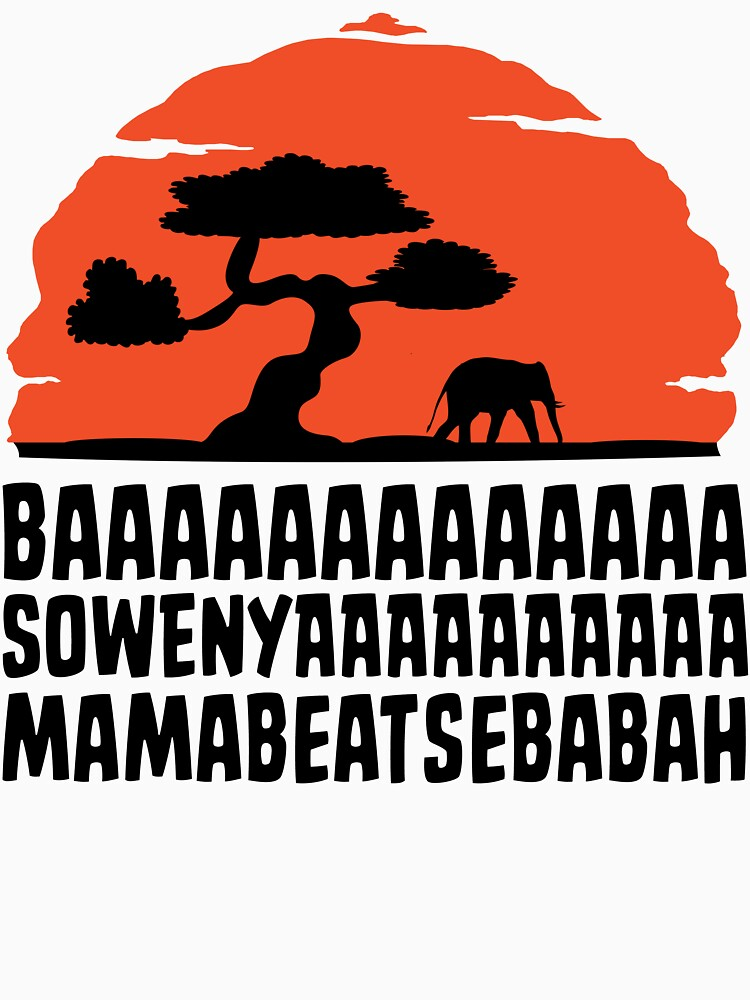 TShirtGifter presents: BAAAAAAAAAAAAA SOWENYAAAAAAAAAA MAMABEATSEBABAH T Shirt | Women's T-Shirt