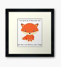 Nine Tails Jr. Framed Print
