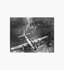 B-17 Bomber Over Germany Painting Art Board