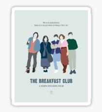 The Breakfast Club Sticker