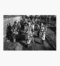 Hullywood Icons - Hull Scooter Club Photographic Print