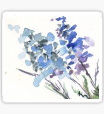 Blue serenity  Sticker