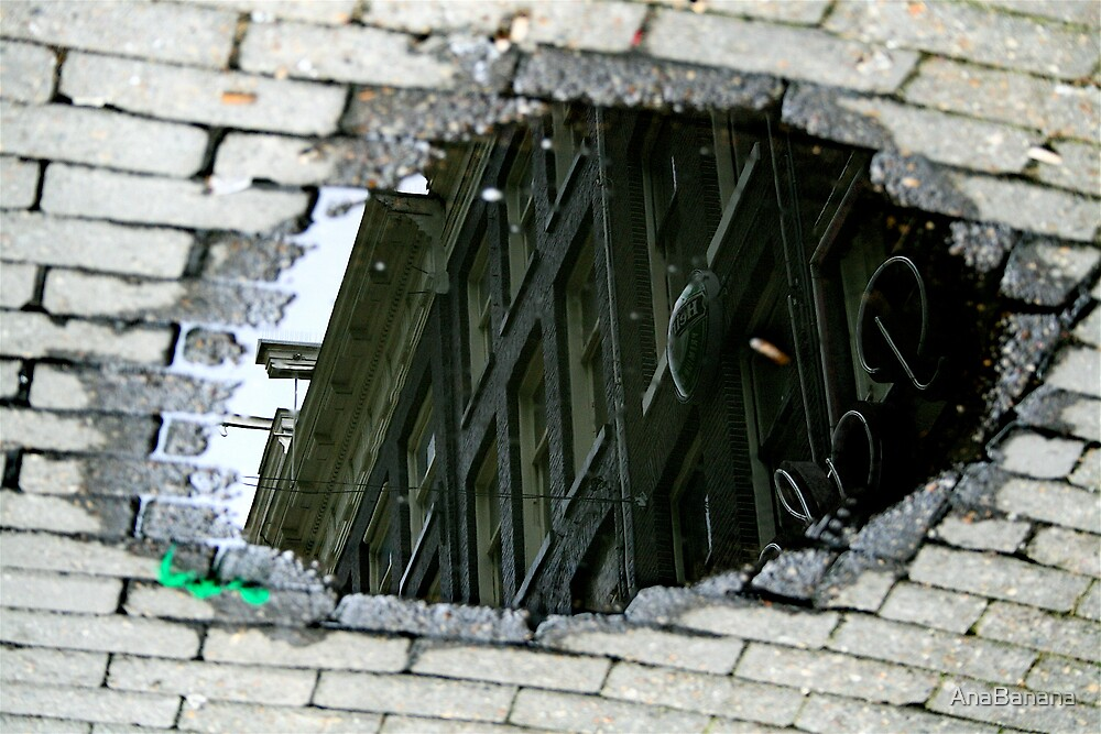 street reflection by AnaBanana