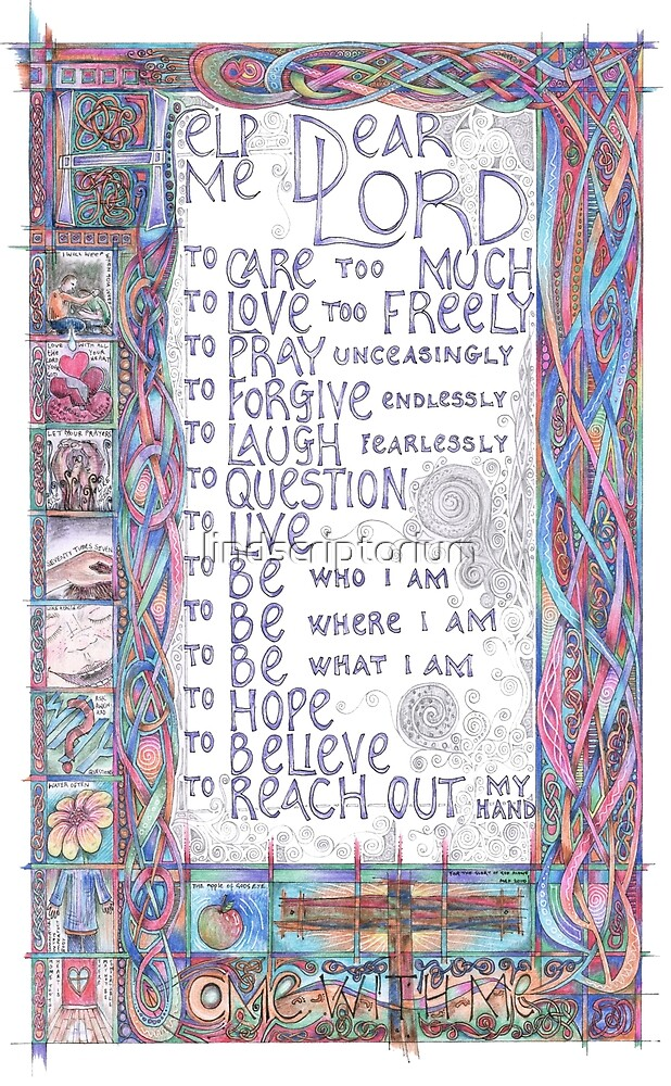 Help Me Dear Lord by lindscriptorium