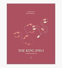 The King & I Photographic Print