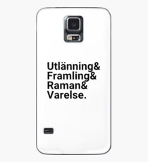 Ender's Game, Hierarchy of Foreignness, Black Case/Skin for Samsung Galaxy