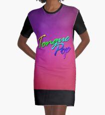 TONGUE POP Graphic T-Shirt Dress