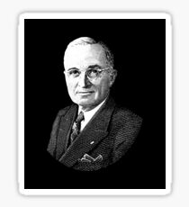 President Harry Truman Graphic Sticker
