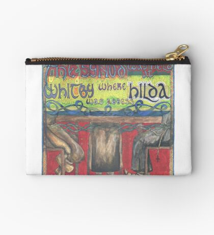 Abbess Hilda and the Synod of Whitby Studio Pouch