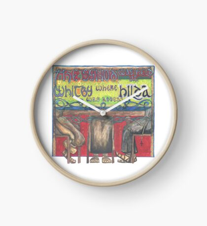Abbess Hilda and the Synod of Whitby Clock