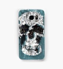The Blue Skull of Baker Street Samsung Galaxy Case/Skin