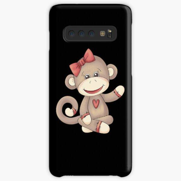 Baby Girl Sock Monkey Samsung Galaxy Snap Case