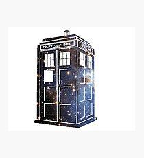 TARDIS Fotodruck