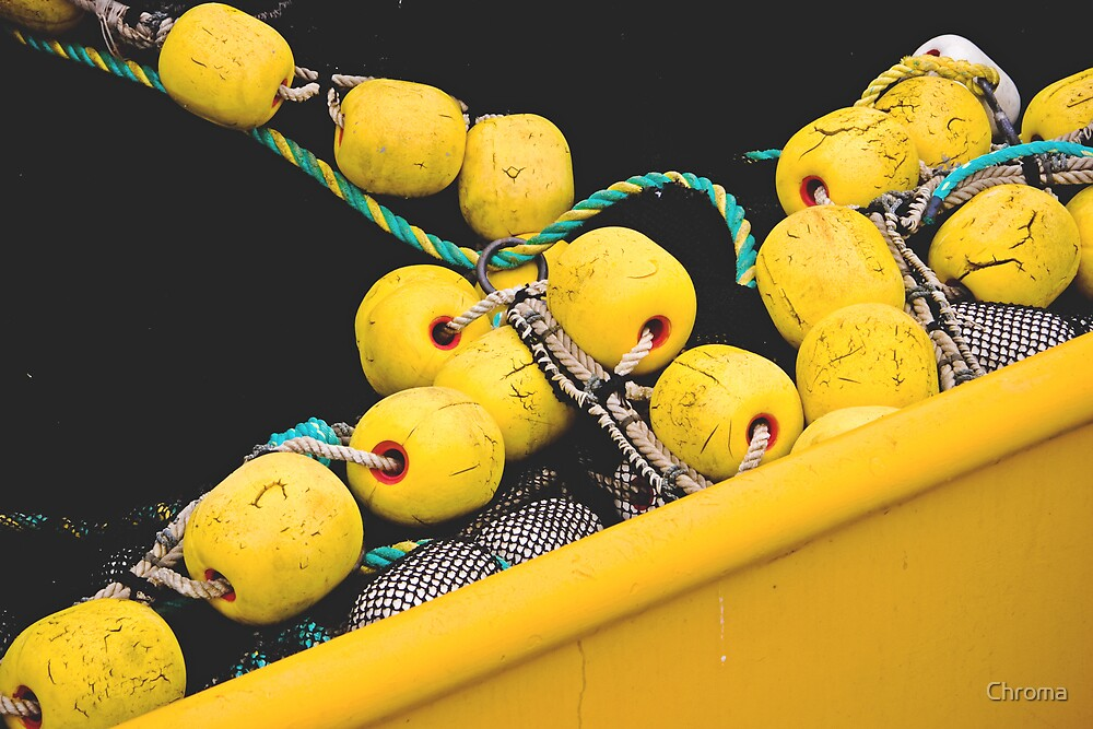 Yellow Floats by Chroma