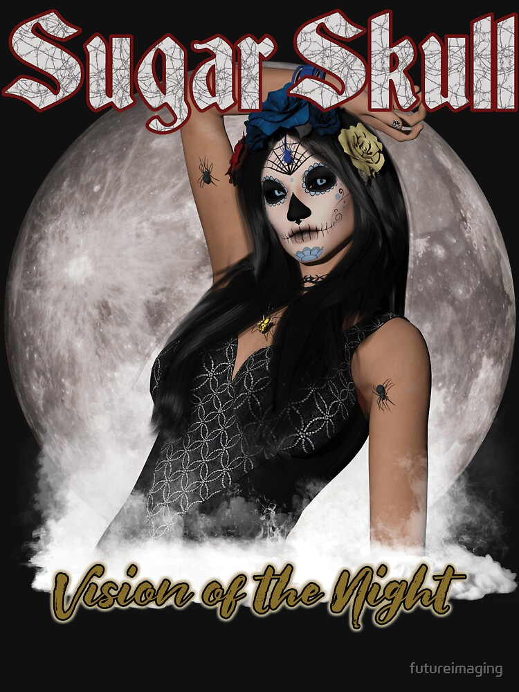 Sugar Skull Vision of the Night by futureimaging