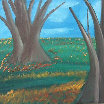 Trees by bobcauley