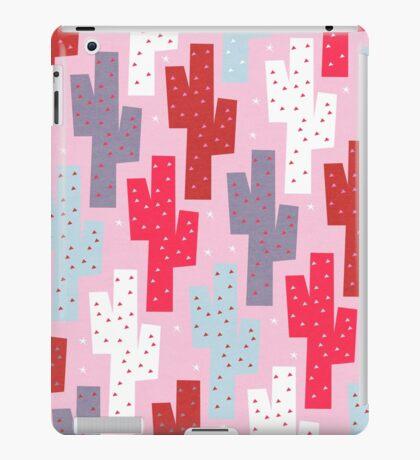 Sweet cactus pattern iPad Case/Skin