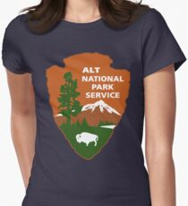 ALT National Park Service Women's Fitted T-Shirt