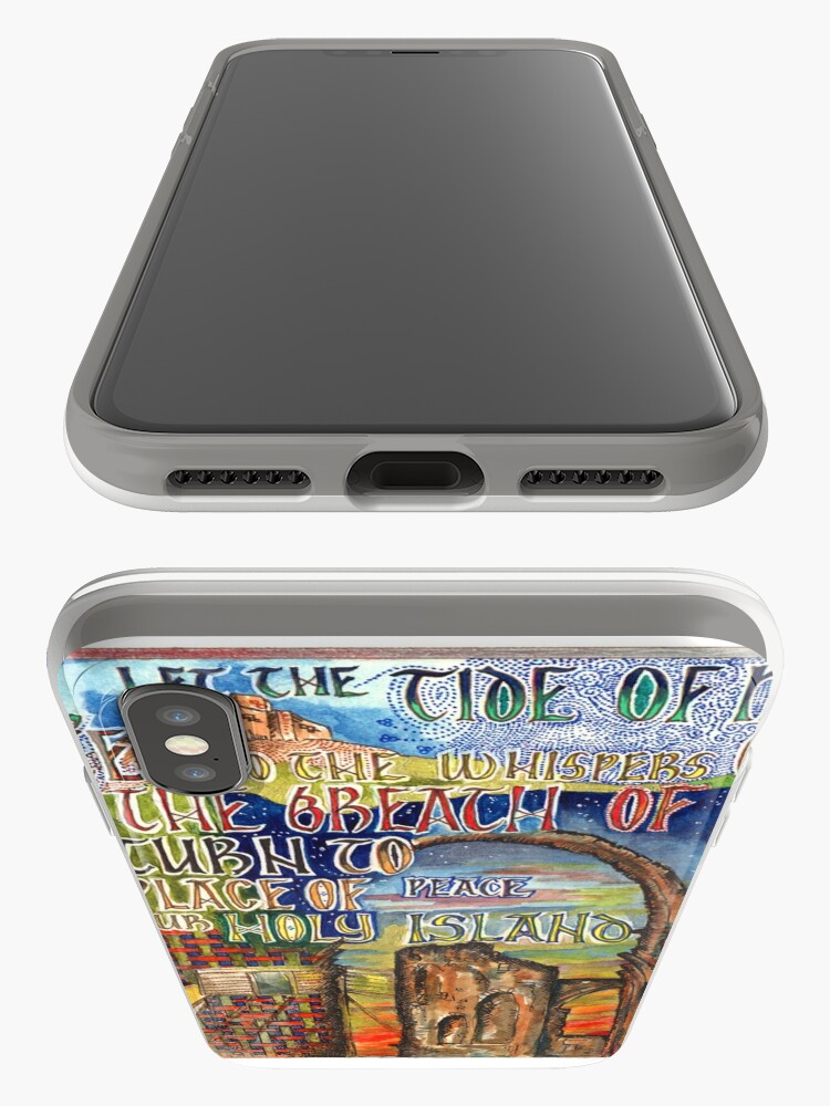 Alternative Ansicht von Heilige Insel iPhone-Hülle & Cover