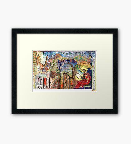Holy Island Framed Print