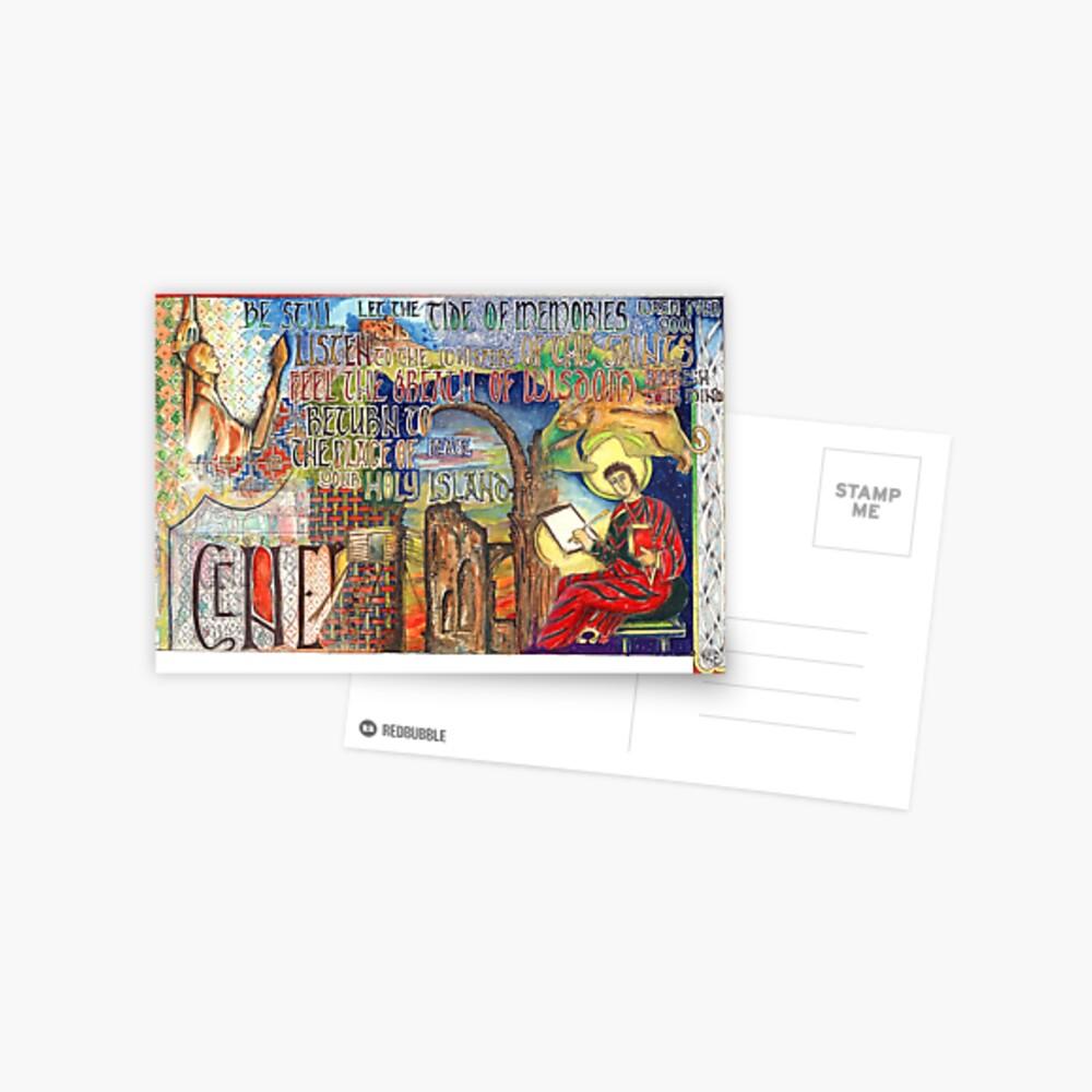 Heilige Insel Postkarte