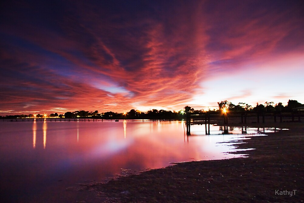 Majestic Morning - Lake Albert, Meningie by KathyT