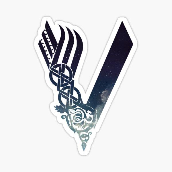 Vikings Logo - Air Sticker