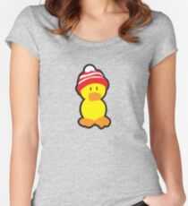 Peter the Duck Women's Fitted Scoop T-Shirt
