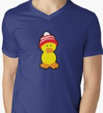 Peter the Duck Mens V-Neck T-Shirt