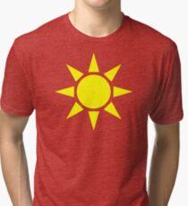 Yellow Sun Tri-blend T-Shirt