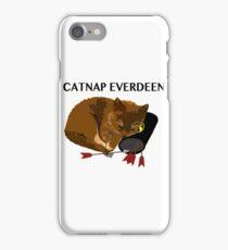 Catnap Everdeen iPhone Case/Skin