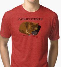 Catnap Everdeen Tri-blend T-Shirt