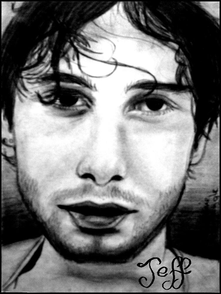 Jeff Buckley by Bonnie Aungle