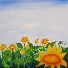 Sunflower Garden by Guy Wann